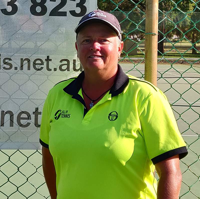 Lisa Brannan is a member of Tennis Australia and is a TA Club Professional (Level 2) and a TCA Development Coach (Level 1). She has over 30 years of coaching experience.