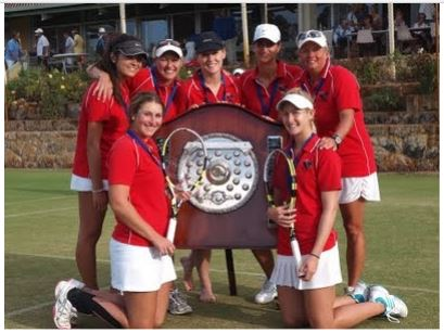 Winning 2012/2013 & 2013/2014 Women's State League Team - Katy O'Shea, Ali Connell, Robyn Lamb, Jasmon Crabb, Marissa Gianotti, Lisa Brannan and Jessica Moore.